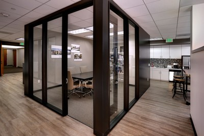 Newman Garrison + Partners' new office at 3100 Bristol St. in Costa Mesa features unique conference areas. (PRNewsFoto/Newman Garrison + Partners)