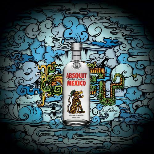 Celebre el espiritu de Mexico con el nuevo ASBOLUT MEXICO #ABSOLUTsabor.  (PRNewsFoto/Pernod Ricard USA)