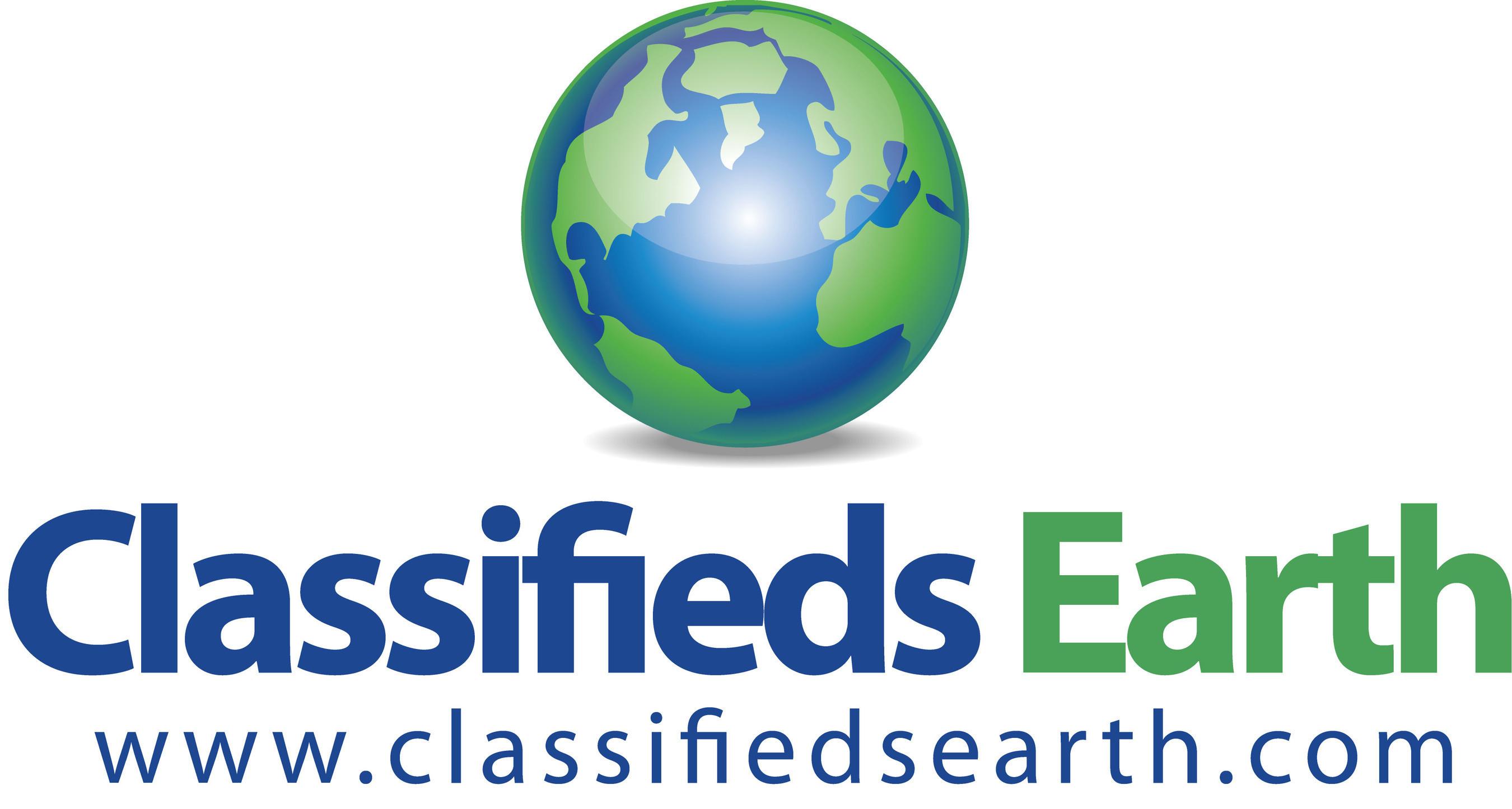 ClassifiedsEarth.com Logo (PRNewsFoto/ClassifiedsEarth.com)