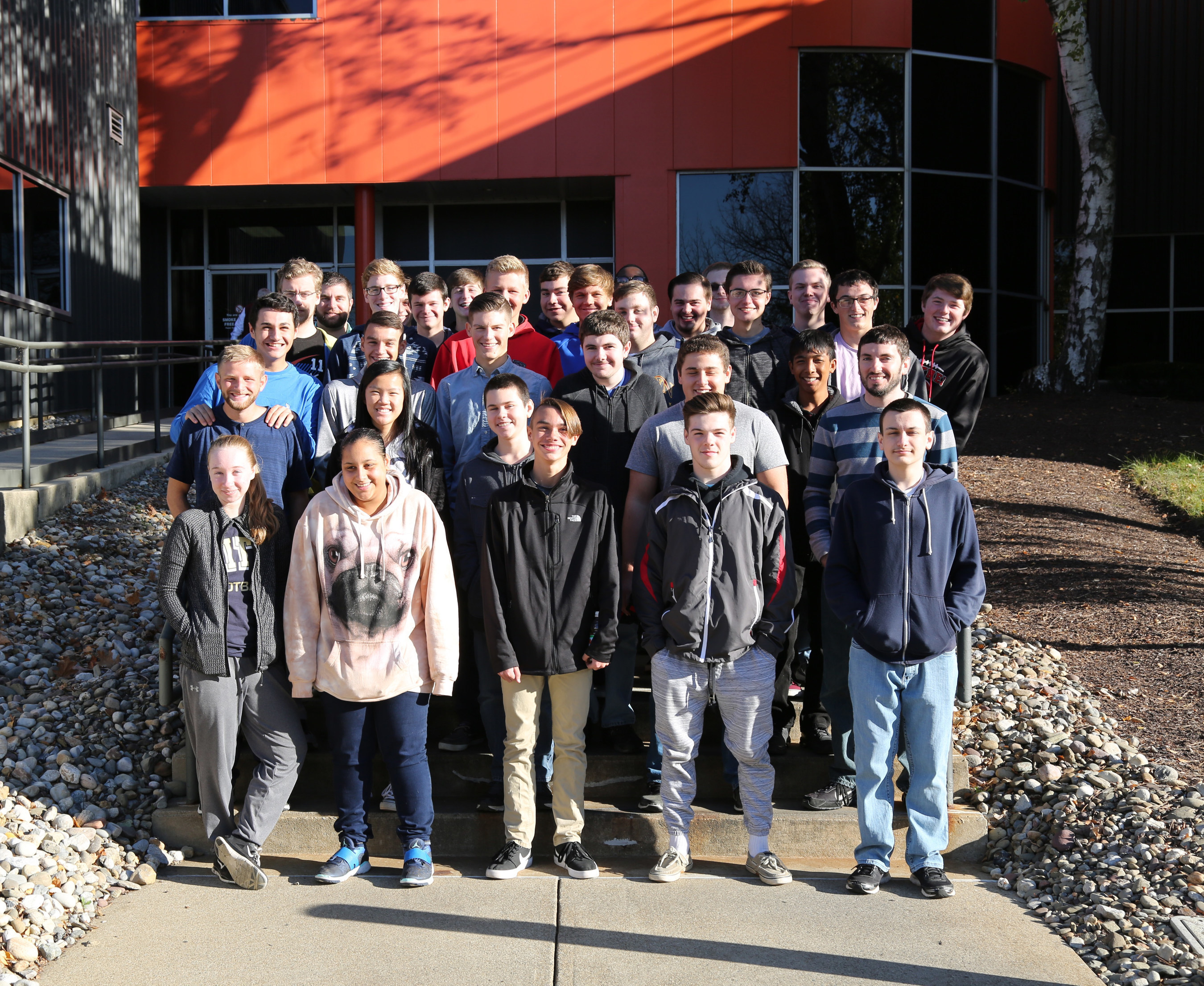 Today, over 30 students from Saucon Valley High School visited Victaulic, Crayola and Follett to gain an understanding of the engineering, science, math and technology skills used to solve real world business challenges.