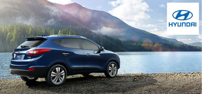 Hesser Hyundai welcomes the 2015 Hyundai Tucson to its inventory. (PRNewsFoto/Hesser Hyundai)