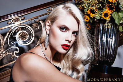 The 2015 Moda Operandi Holiday Collection campaign photographed by Steve Hiett.