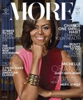 First Lady Michelle Obama is MORE Magazine's First-Ever Guest Editor.