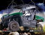 Winner of Rhino(R) lined Yamaha Viking announced at SEMA 2013 in Las Vegas, NV.  (PRNewsFoto/Rhino Linings Corporation)