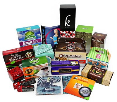 FoldedColor Packaging is a revolutionary web-to-carton solution for custom folding cartons. Customers benefit from cost-effective, high-quality production of short-run orders as low as 50 boxes.