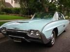 Joe Strummer's 1963 CHALFONT BLUE FORD THUNDERBIRD (PRNewsFoto/Beverly Hills Car Club)