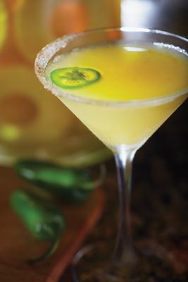Bonefish Grill's Ocean Trust Tropic Heat Martini (PRNewsFoto/Bonefish Grill)