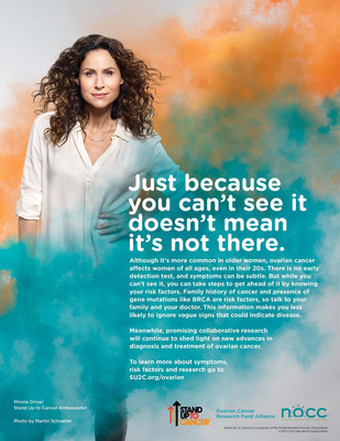 Minnie Driver Joins Stand Up To Cancer, Ovarian Cancer Research Fund Alliance and National Ovarian Cancer Coalition in New PSA