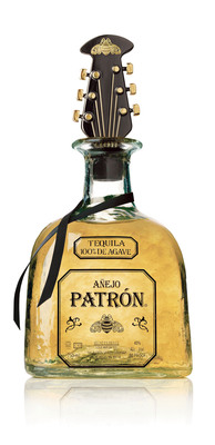 Fashion Icon John Varvatos Rocks Patron Anejo Tequila with Limited Edition Bottle Stopper.  (PRNewsFoto/Patron Spirits)