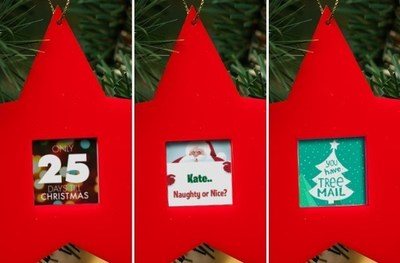 Jolly Christmas Tree Ornament - Features