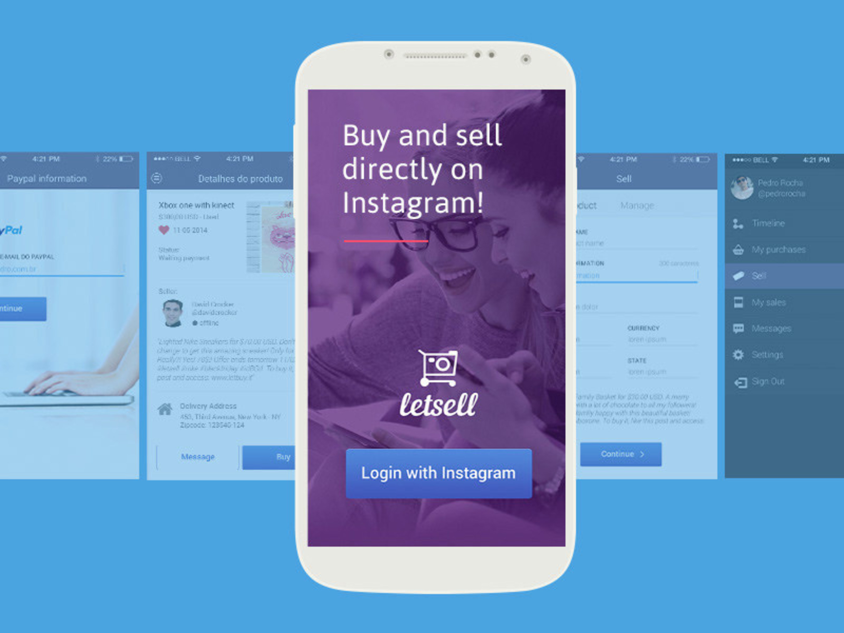 Gerencianet prepares release of app for buying and selling using Instagram