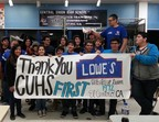 Lowe's Toolbox for Education awarded $2.4 million in grants to nearly 600 schools during the spring 2014 grant cycle. (PRNewsFoto/Lowe's Companies, Inc.)