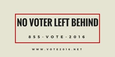 No Voter Left Behind