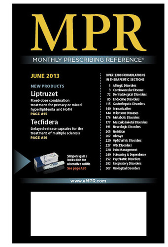 MPR June 2013 Edition.  (PRNewsFoto/MPR)