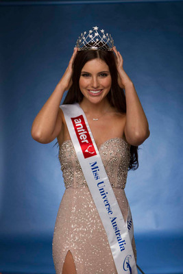 Hearts On Fire Designs Diamond Crown for Miss Universe Australia 2013