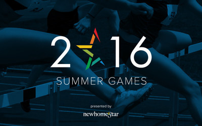 Official New Home Star 2016 Summer Games logo.
