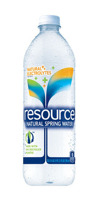 Introducing resource(R) Natural Spring Water: A National Premiere with Star Power.  (PRNewsFoto/Nestle Waters North America)
