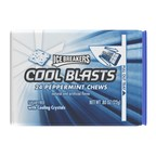 ICE BREAKERS COOL BLASTS Chews rapidly dissolve and release a cool blast of instant freshness.