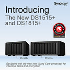 Synology® Expands the Plus Series with DiskStation 1515+ and 1815+