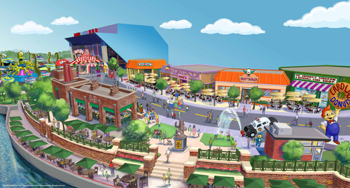 Springfield, hometown to America's favorite animated family, The Simpsons, comes to life at Universal ...