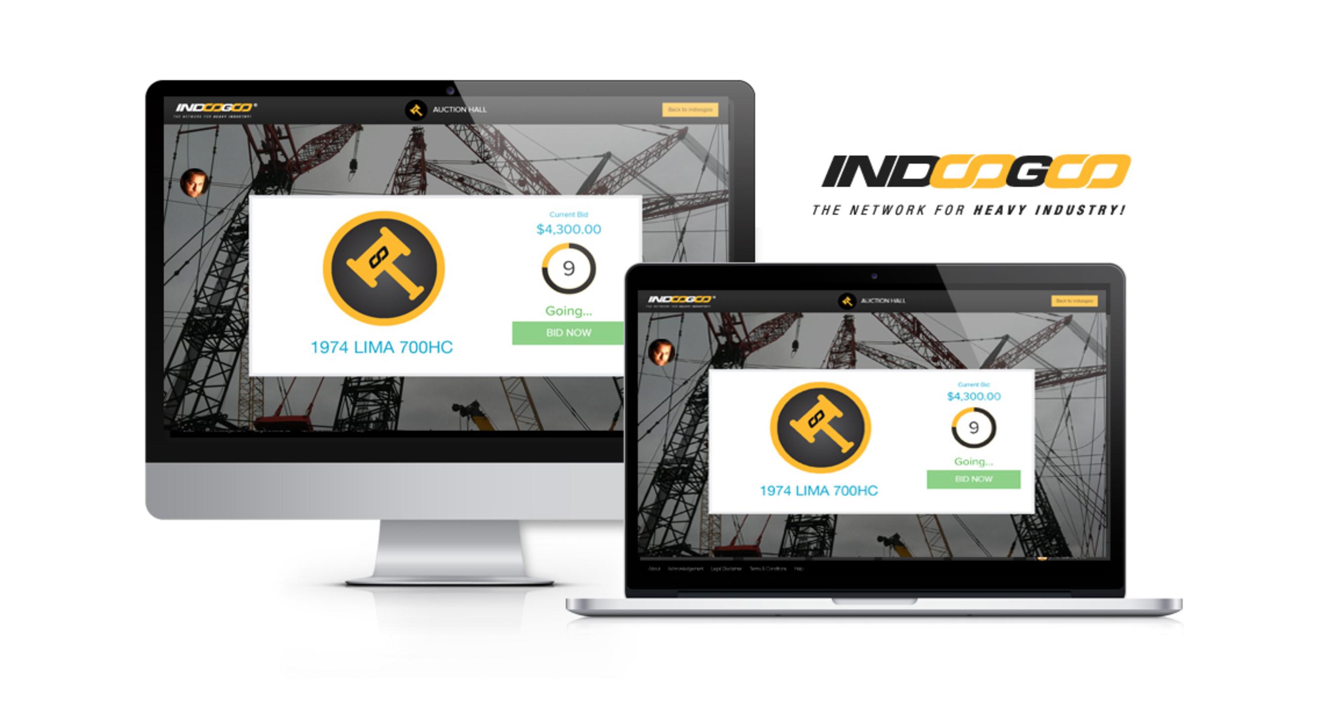 Indoogoo: the network for heavy industry (PRNewsFoto/Indoogoo)