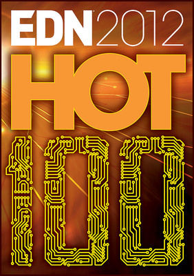 UBM Tech Announces the 2012 EDN Hot 100, Showcases the Electronics Industry's Most Significant Products of the Year.  (PRNewsFoto/UBM Tech)