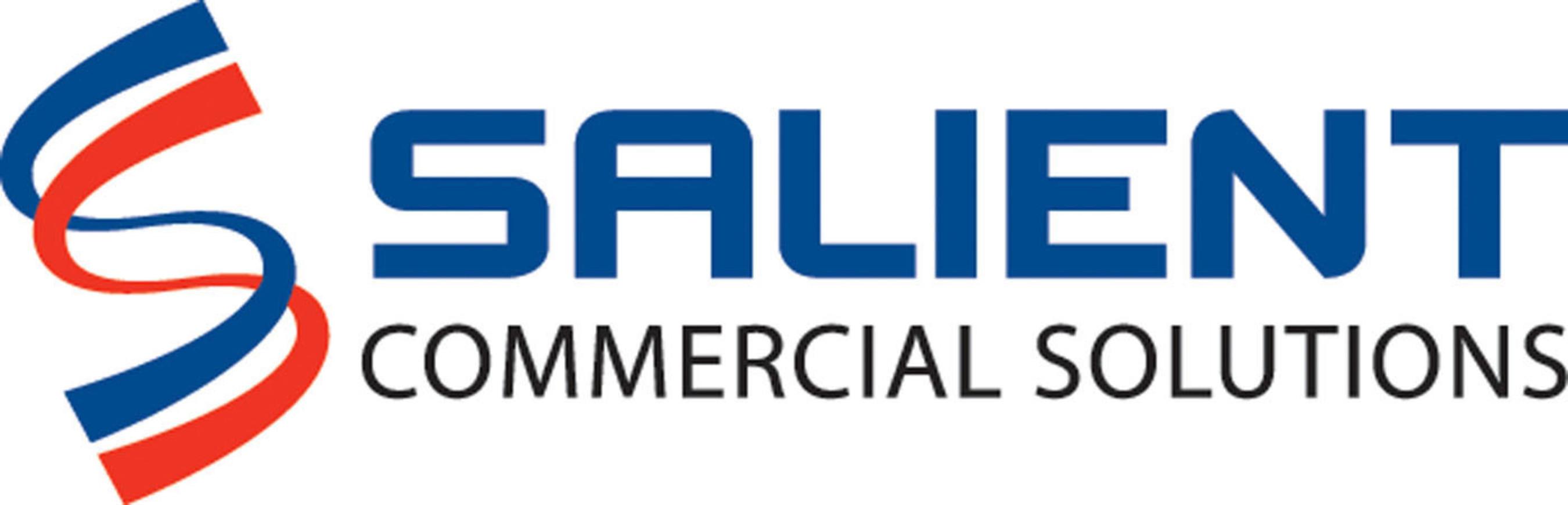 Salient Commercial Solutions Logo. (PRNewsFoto/Salient Federal Solutions)