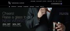 A screenshot of SV's new website. (PRNewsFoto/Smoking Vapor)