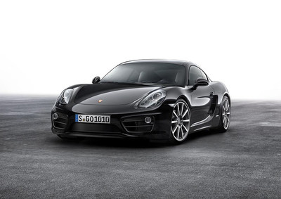 The new Porsche Cayman Black Edition