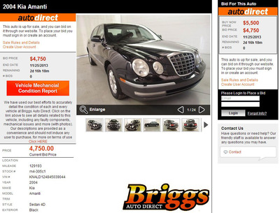 Briggs Auto Direct makes it easy for consumers to find and bid on a wide selection of used cars in Kansas. (PRNewsFoto/Briggs Auto Group) (PRNewsFoto/BRIGGS AUTO GROUP)