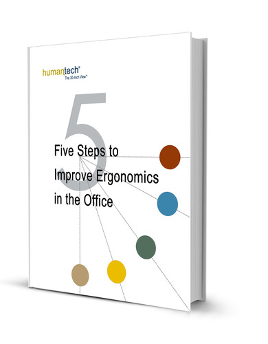 Humantech Releases New E-book: Five Steps to Improve Ergonomics in the Office