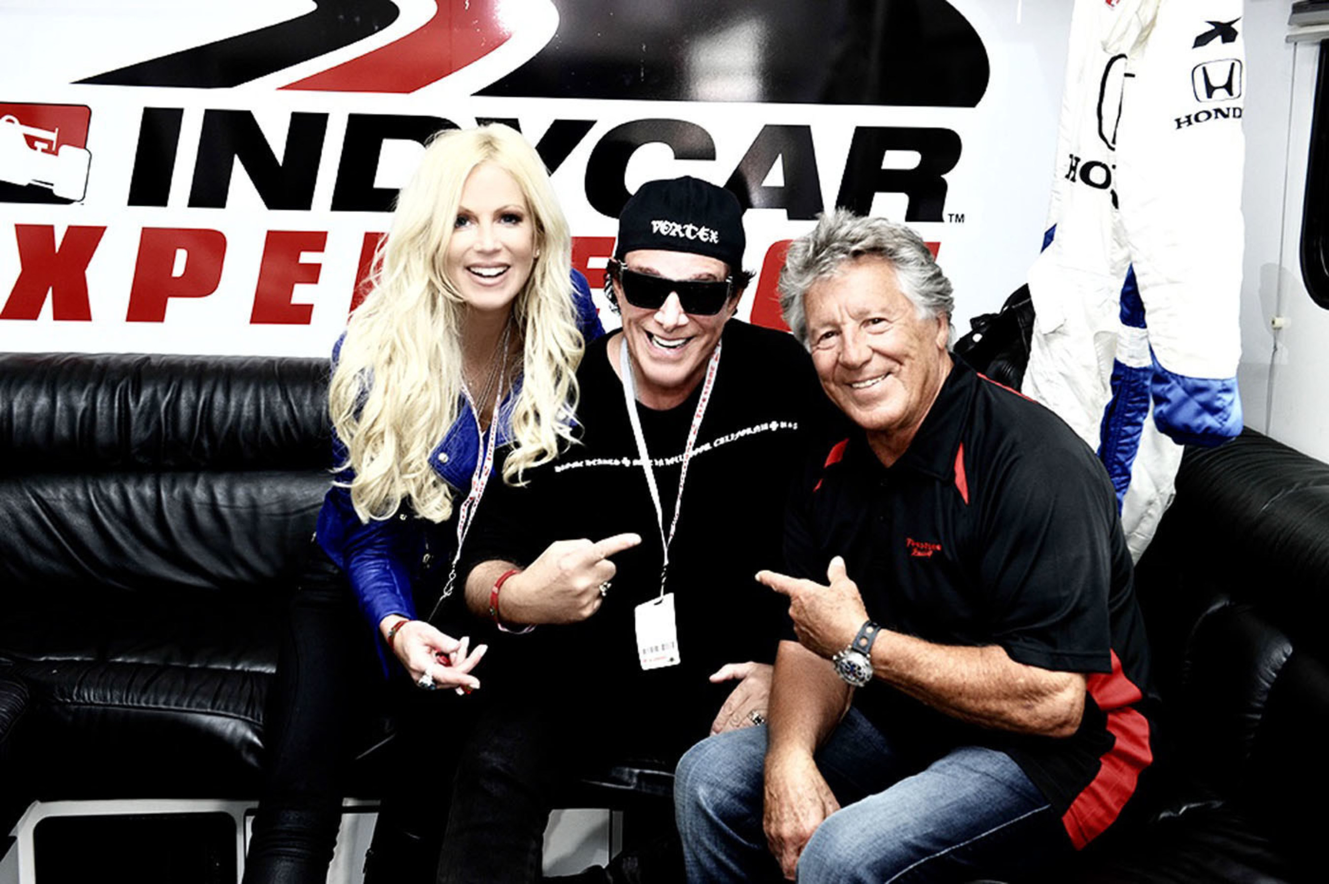Journey Guitarist, Neal Schon Suited Up And Took The Track With Longtime Hero, Racing Legend Mario Andretti