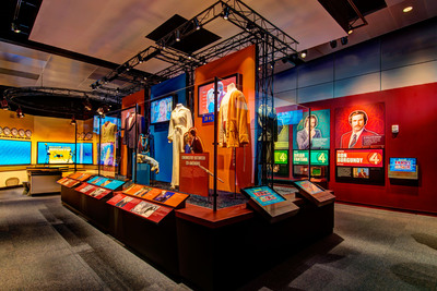 "On Thursday, Nov. 14, the Newseum will open its highly anticipated ""Anchorman: The Exhibit,"" featuring props, costumes and footage from the comedy classic ""Anchorman: The Legend of Ron Burgundy.""  (PRNewsFoto/Newseum)"