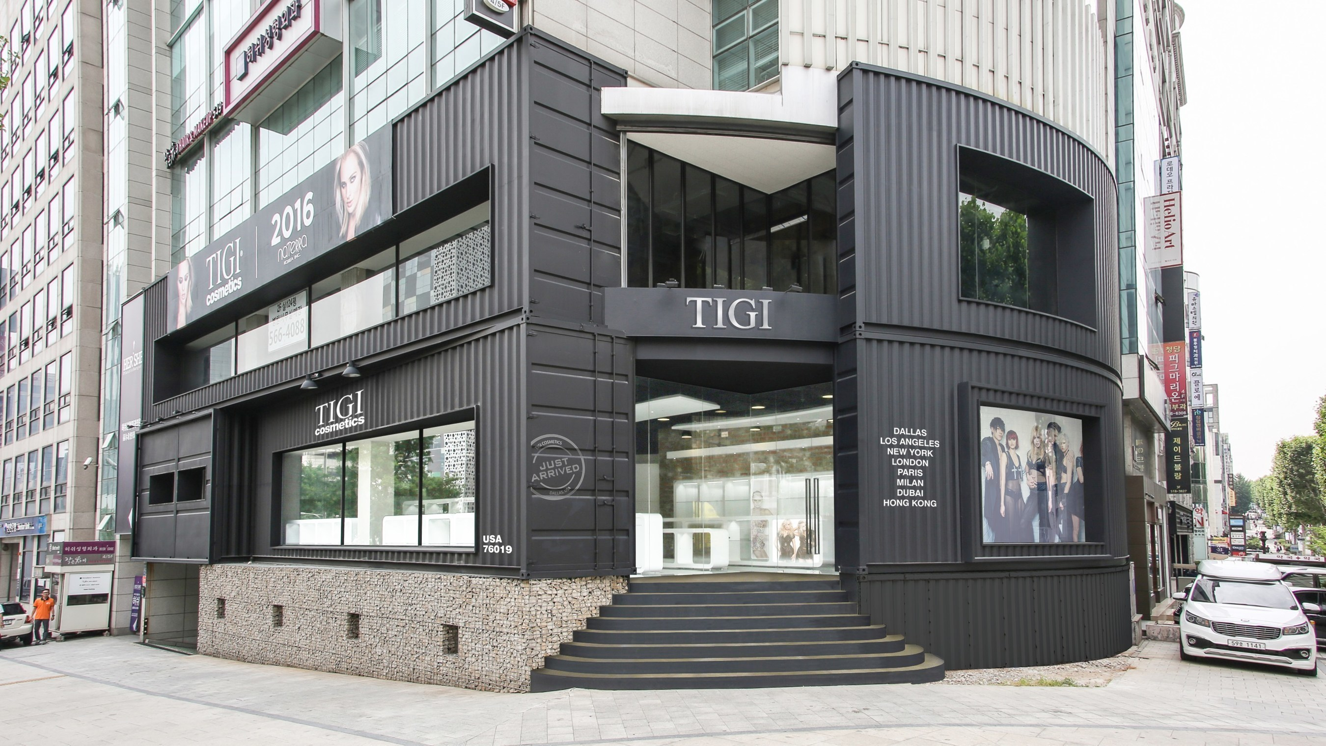 U.S. beauty and personal care company Naterra announces the July 1, 2016 opening of the first Naterra Korea store. The impressive new retail space is located on the luxury high-street Cheongdam crossroads and will serve as the official Korean flagship store for Naterra and the home of TIGI, the popular global professional cosmetics and hair care brand. (Photo provided by Naterra)