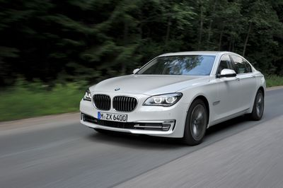 Caption: The flagship BMW 7 Series: Sales up 6.4% in June 2014. (PRNewsFoto/BMW Group)