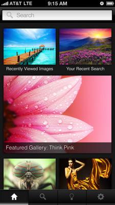 Shutterstock Introduces Universal iOS Application.  (PRNewsFoto/Shutterstock)