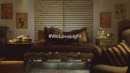 """How something appears is always a matter of perspective and lighting design - Still from the video """"#WeLoveLight"""" Lighting-Related Organizations (PRNewsFoto/Lighting-Related Organizations)"""