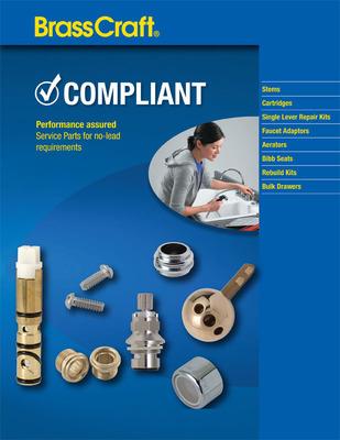 Service Parts Compliant Catalog.  (PRNewsFoto/BrassCraft Manufacturing Company)