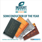 Intel - Micron collaboration wins Insight Award for Semiconductor of the Year.  (PRNewsFoto/UBM TechInsights)