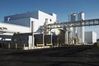Side view of BioAmber Sarnia's Bio Succinic Acid Plant