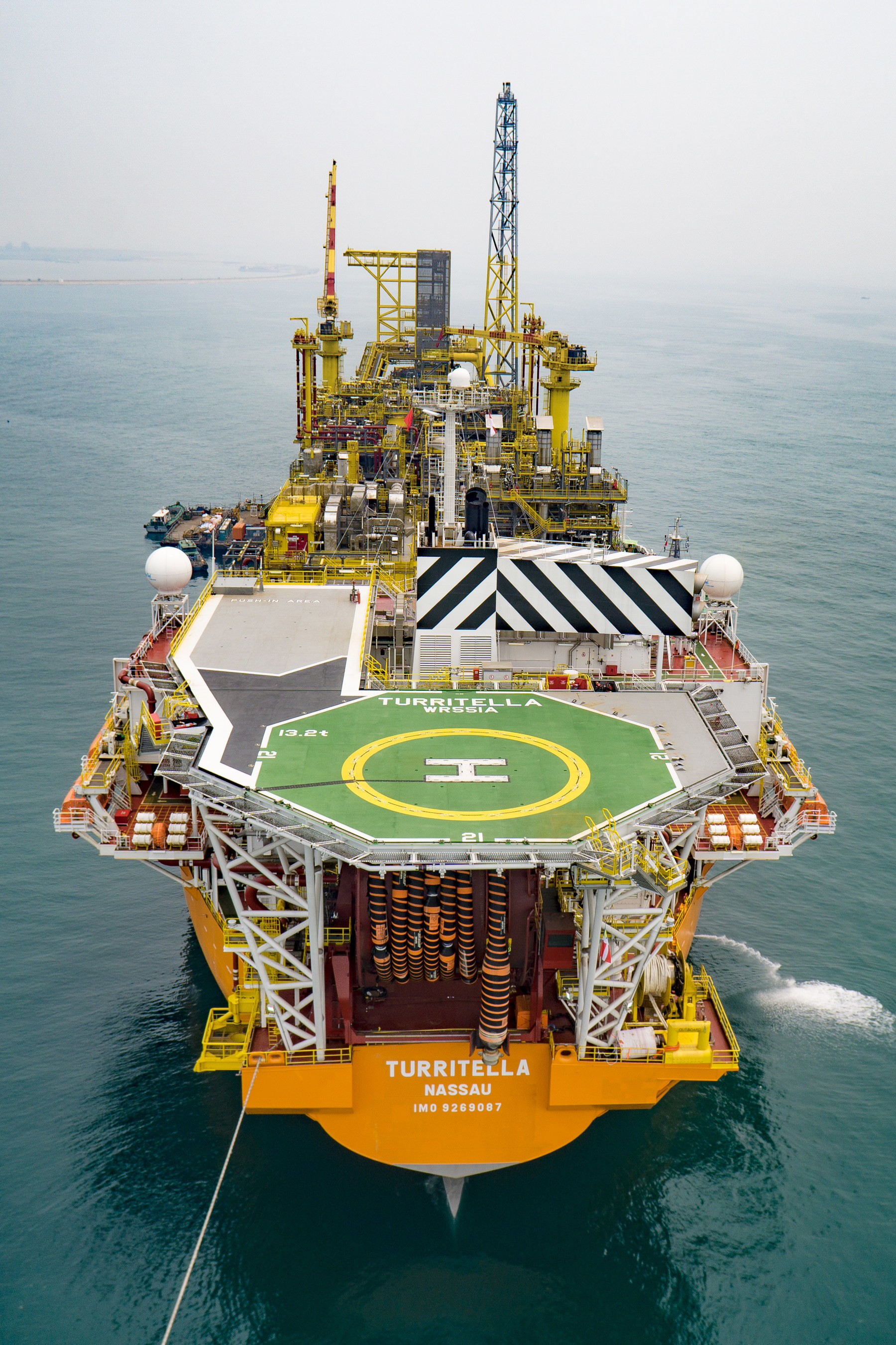 The host facility for the world's deepest offshore oil and gas project is a floating production, storage and offloading (FPSO) vessel and the thirteenth FPSO in Shell's global deep-water portfolio.