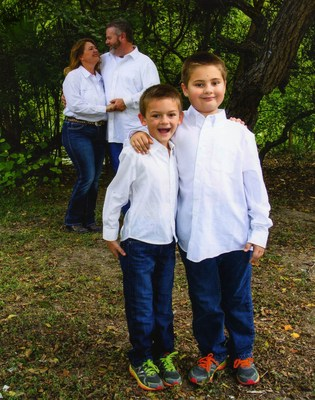 Brothers Jack and J.D. Roberts, shown here with their parents, Candice and Ronnie Roberts, were born prematurely. With support from the March of Dimes and the research it funds, today the boys are active and thriving at ages six and eight.
