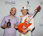 "Guest Judge Carlos Santana Awards Mixologists J.R. Starkus (pictured) and Dimitri Sequeira Top Honors at Casa Noble ""Noble Places"" Specialty Tequila Cocktail Competition.  (PRNewsFoto/Casa Noble)"
