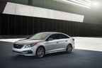 2015 SONATA AWARDED AN INSURANCE INSTITUTE FOR HIGHWAY SAFETY TOP SAFETY PICK (PRNewsFoto/Hyundai Motor America)