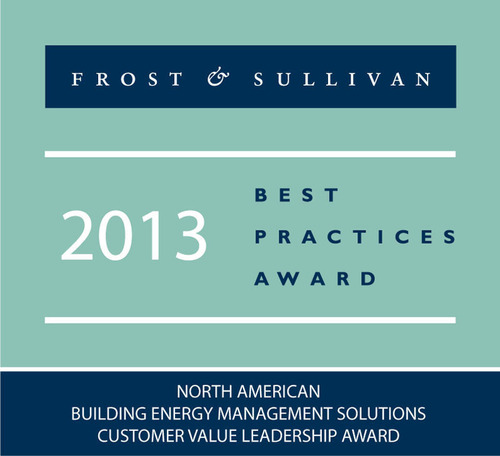 Frost & Sullivan Recognizes GridPoint for Comprehensive Energy Management System with its 2013 Customer Value Leadership Award.  (PRNewsFoto/GridPoint)