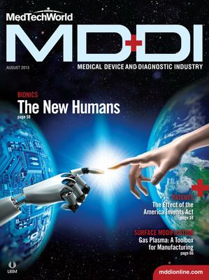 MD DI August 2013 Issue (PRNewsFoto/UBM Canon)