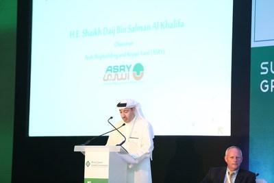 H.E. Shaikh Daij Bin Salman Al Khalifa, Keynote Speaker at The Maritime Standard Tanker Conference (PRNewsFoto/Flagship Events)