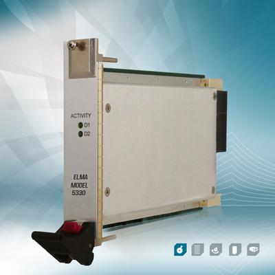 More Than 2 TB of Storage Available in Elma's New Single-slot 3U VPX Board. (PRNewsFoto/Elma Electronic Inc.) (PRNewsFoto/ELMA ELECTRONIC INC.)