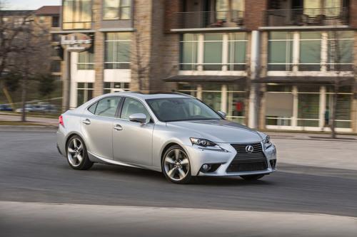 Lexus features all-new 2014 IS at Miami International Auto Show.  (PRNewsFoto/Lexus)