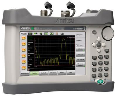 El Analizador de Cable y Antena Site Master S331L.  (PRNewsFoto/Anritsu Company)